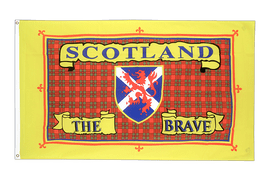 Schottland Scotland The Brave - Flagge 60 x 90 cm