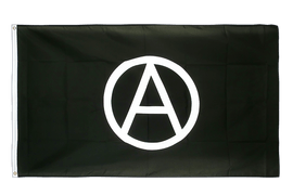 Large Flag Anarchy - 5x8 ft