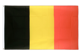 Large Belgium Flag - 5x8 ft