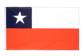 Chile - 5x8 ft Flag