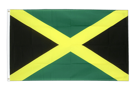 Grand drapeau Jamaique - 150 x 250 cm