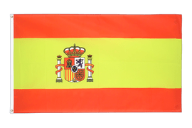 Spain with crest - 5x8 ft Flag