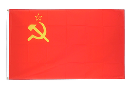 Large Flag USSR Soviet Union - 5x8 ft