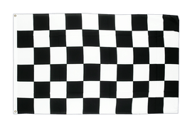 Large Flag Checkered - 5x8 ft