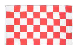Checkered Red-White - 3x5 ft Flag