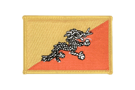 Flag Patch Bhutan