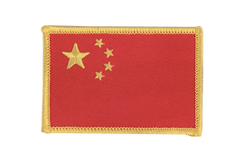 China - Flag Patch