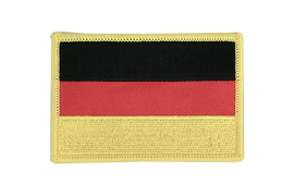 Deutschland - Flaggen Aufnäher 6 x 8 cm