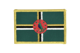 Dominica - Flag Patch