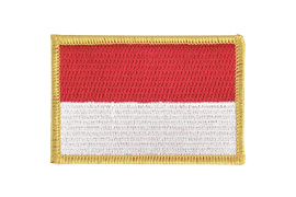 Indonesia - Flag Patch