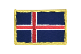 Iceland - Flag Patch