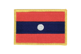 Laos - Flag Patch