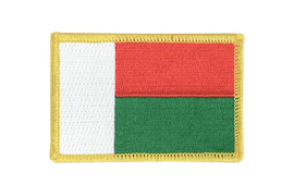 Madagascar - Flag Patch