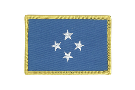 Micronesia - Flag Patch