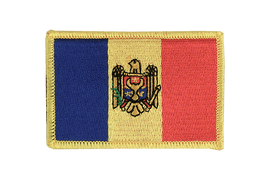 Écusson Moldavie - 6 x 8 cm