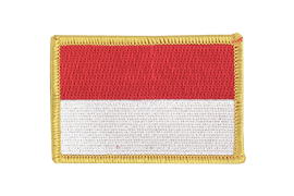 Monaco - Flag Patch