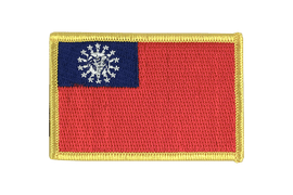 Myanmar 1974-2010 - Flag Patch