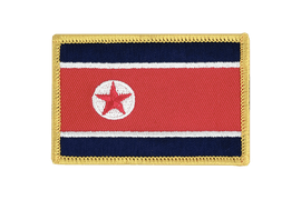 North corea - Flag Patch