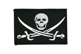 Pirate with sabre - Flag Patch