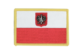 Poland with eagle - Flag Patch