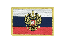 Russia with crest - Flag Patch