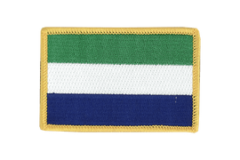 Sierra Leone - Flag Patch