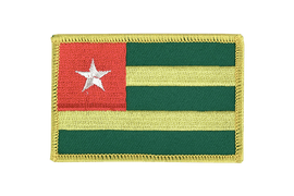 Togo - Flag Patch