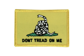 Gadsden Don't tread on me - Flaggen Aufnäher 6 x 8 cm
