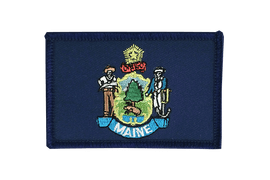 Maine - Flag Patch