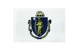 Massachusetts - Flag Patch