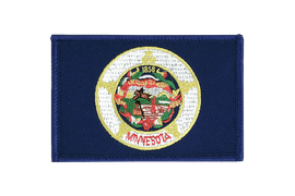 Minnesota - Flag Patch