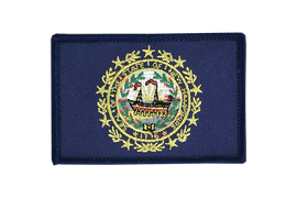 New Hampshire - Flag Patch
