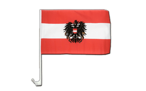 Austria eagle - Car Flag 12x16""