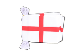 England St. George - Flag Bunting 6x9""