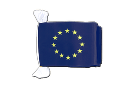 European Union EU - Flag Bunting 6x9""