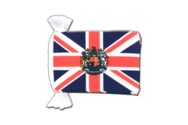 Great Britain with crest - Flag Bunting 6x9""