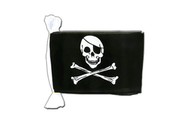 Guirlande fanion Pirate - 15 x 22 cm