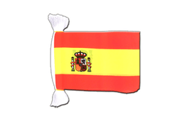 Spain with crest - Flag Bunting 6x9""