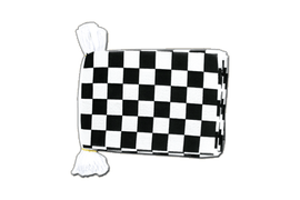 Checkered - Flag Bunting 6x9""