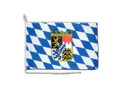 Bavaria with crest - Boat Flag 12x16""