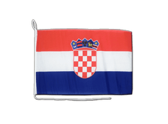 Croatia - Boat Flag 12x16""
