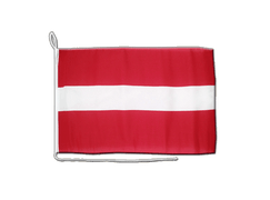 Latvia - Boat Flag 12x16""