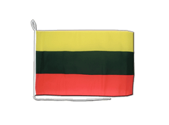 Lithuania - Boat Flag 12x16""