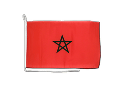 Morocco - Boat Flag 12x16""