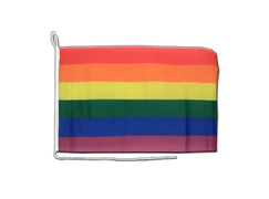 Rainbow - Boat Flag 12x16""