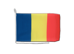 Rumania Boat Flag - 12x16""