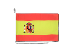 Spain with crest - Boat Flag 12x16""