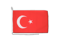Turkey - Boat Flag 12x16""