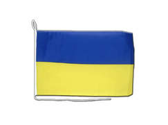 Ukraine - Boat Flag 12x16""
