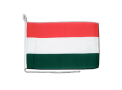 Hungary - Boat Flag 12x16""